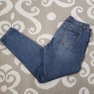 CAbi Jean Heritage Skinny Style #918 Size 10